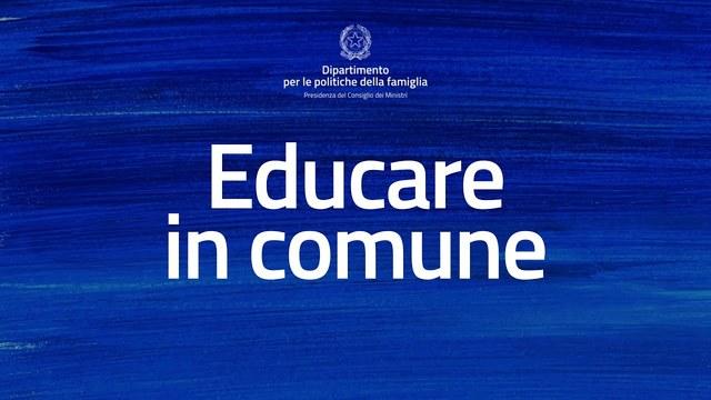 immagine di AVVISO - EDUCARE IN COMUNE